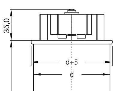 ترمینال بزرگ جهت خازن فشار ضعیف سه فاز فراکو (فراکوه)