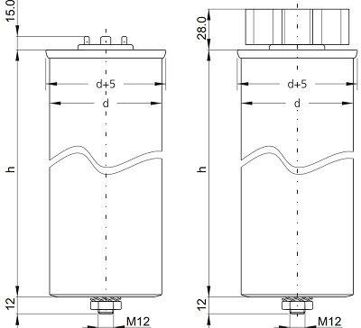 خازن سه فاز فشار ضعیف فراکو LKT15-440 DP
