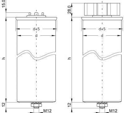 خازن 3فازفشارضعیف فراکو 12.5کیلووار LKT12.5-400DB