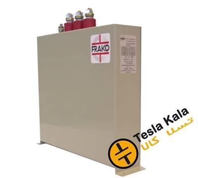 خازن 3فاز فشار ضعیف فراکو ، 50 کیلووار در 440 ولت ( 40 در 400) مکعبی