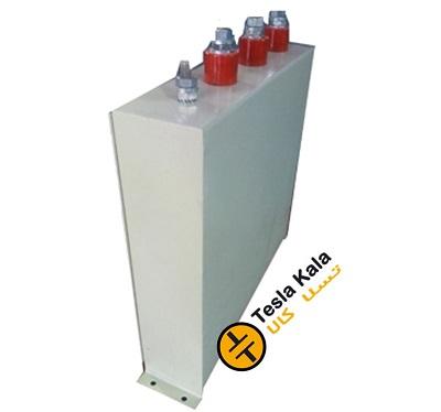 خازن 3فاز فشار ضعیف فراکوه، 50 کیلووار در 440 ولت ( 40 در 400) مکعبی