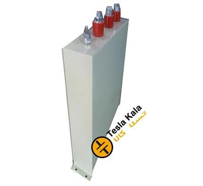 خازن 3فاز فشار ضعیف فراکوه، 24.2 کیلووار در 440 ولت ( 20 در 400) مکعبی