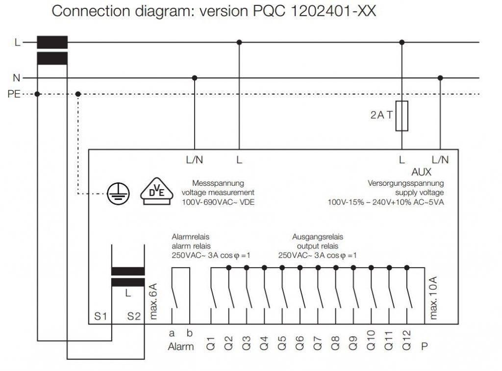 رگولاتور بانک خازنی، فراکو آلمان ، مدل PQC1202401-00