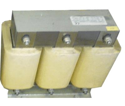 فیلتر هارمونیک خازنی 50 کیلووار فراكوه ، مدل HFR-7/400/50