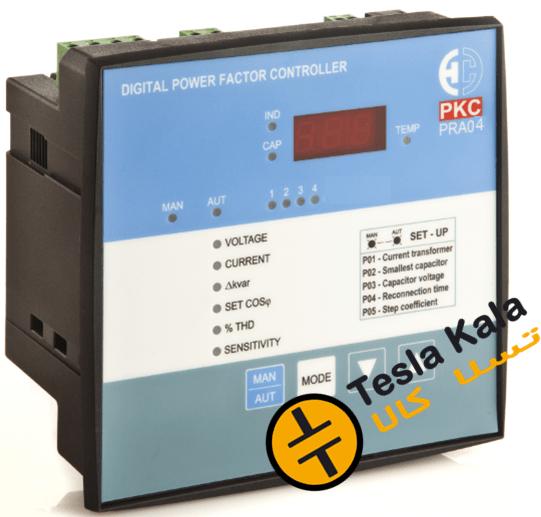 رگولاتور بانک خازنی، پرتوخازن PKC مدل PRA04