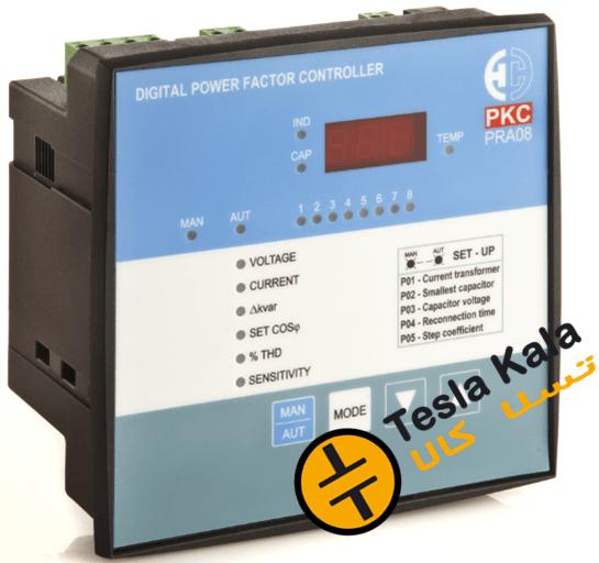 رگولاتور بانک خازنی، پرتوخازن PKC مدل PRA08