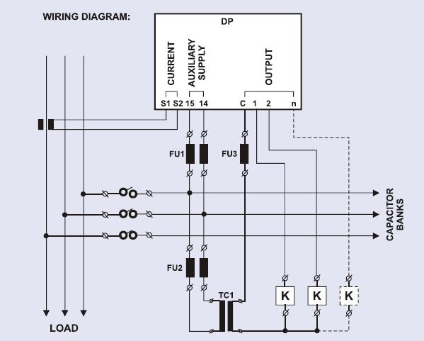 رگولاتور بانک خازنی، پرتوخازن PKC مدل PRA12