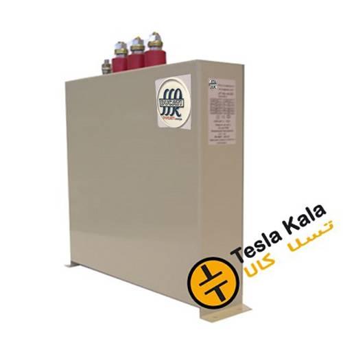 خازن 3فاز فشار ضعیف مکعبی DUCATI (ایتالیا) 40 کیلووار 400 ولت