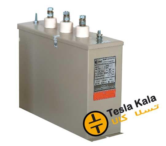 باكس خازن سه فاز فشارضعیف PKC, 400V, 30KVAR
