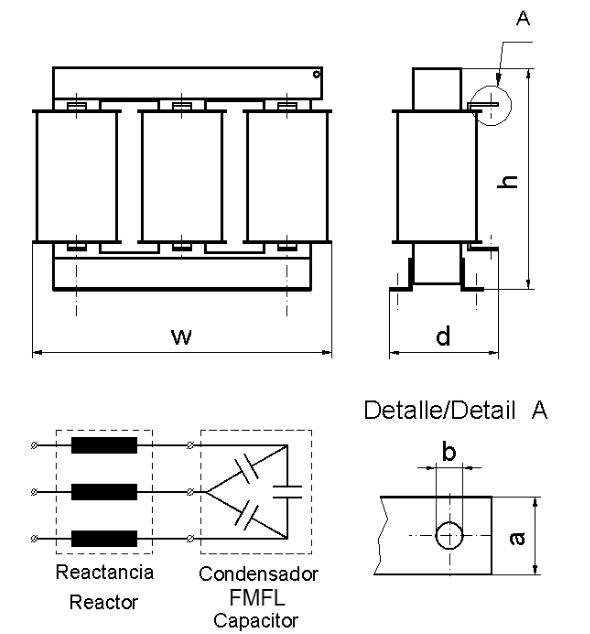 فیلترهارمونیک خازنی 25کیلووار،7درصد،لیفاسا، مدل INA40257