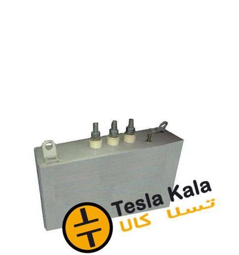 خازن 3فاز فشارضعیف روغنی،20 کیلووار پارس مدل NL 400/20 3PHD