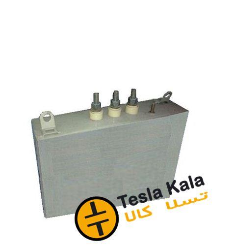 خازن 3فاز فشارضعیف روغنی،25 کیلووار پارس مدل NL 400/25 3PHD