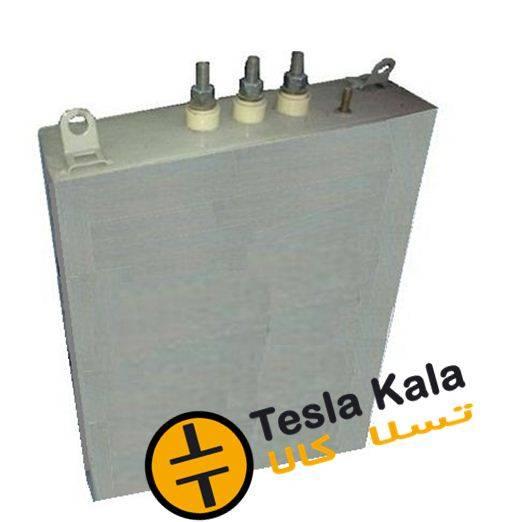 خازن 3فاز فشارضعیف روغنی،40 کیلووار پارس مدل NL 400/40 3PHD