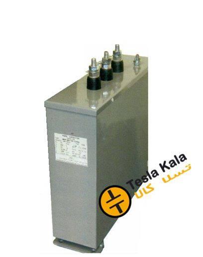 خازن 3فاز فشارضعیف خشک،25 کیلووار پارس مدل MKP 420/25