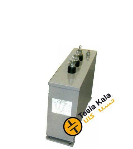 خازن 3فاز فشارضعیف خشک،10 کیلووار پارس مدل MKP 420/10