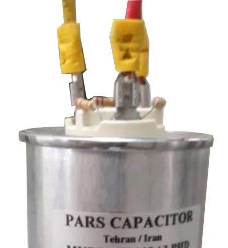 خازن 3فاز فشارضعیف روغنی،6.25کیلووار پارس مدل MKPO 400/6.25