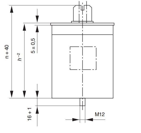 خازن سه فاز فشار ضعیف گازی صبا زیمنس، 10کیلووار، 400 ولت