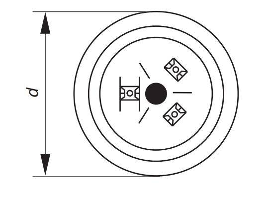 خازن سه فاز فشار ضعیف خشک اپکاس آلمان، 2.5کیلووار،400 ولت