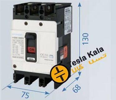 100 f - کلید اتوماتیک،کمپکت 32 آمپر،غیرقابل تنظیم حرارتی-مغناطیسی HYUNDAI (فریم کوچک)
