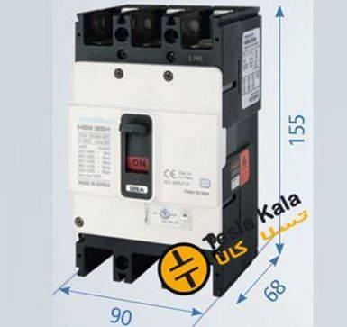 125 ir new - کلید اتوماتیک،کمپکت 16آمپر،قابل تنظیم حرارتی-ثابت مغناطیسی HYUNDAIمدلHGM