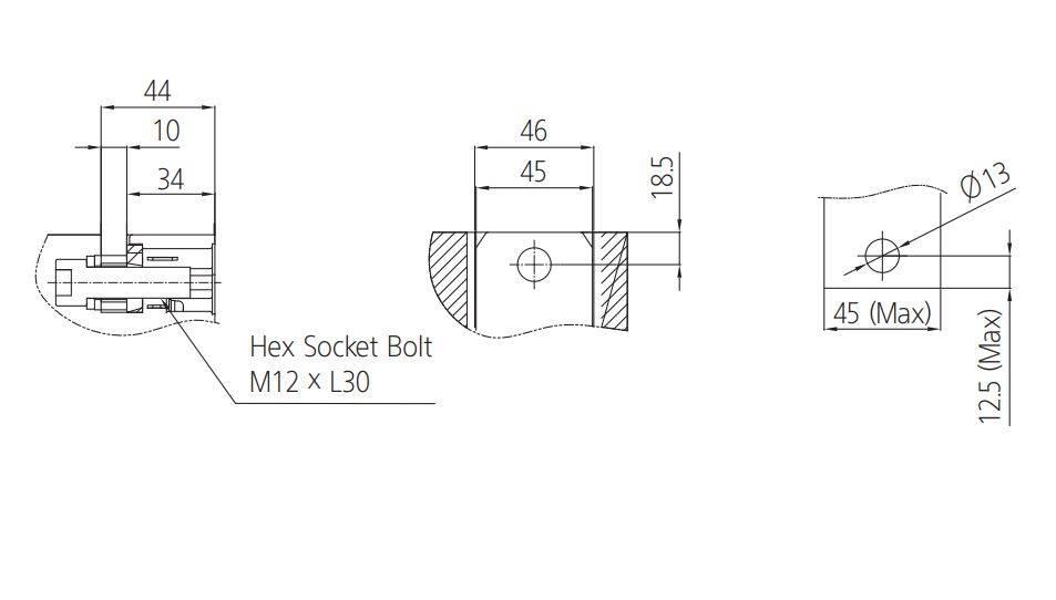 کلید اتوماتیک،کمپکت 800 آمپر،غیرقابل تنظیم حرارتی-مغناطیسی HYUNDAI مدل HGM