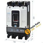 کلید اتوماتیک،کمپکت 630آمپر،قابل تنظیم حرارتی-قابل تنظیم مغناطیسی HYUNDAIمدلHGP