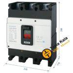 کلید اتوماتیک،کمپکت 630 آمپر،غیرقابل تنظیم حرارتی -مغناطیسی HYUNDAI مدل HGM