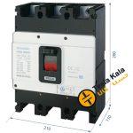کلید اتوماتیک،کمپکت 630 آمپر،قابل تنظیم حرارتی-ثابت مغناطیسی HYUNDAIمدلHGM