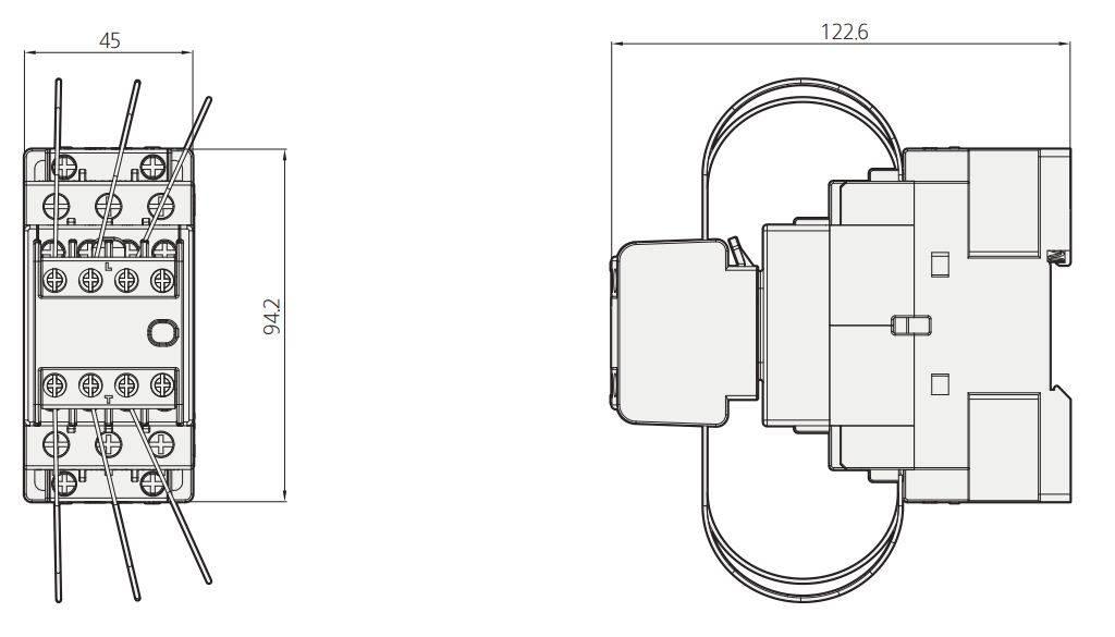 کنتاکتور خازنی 12.5کیلوواری برند HYUNDAI مدل HGC12C