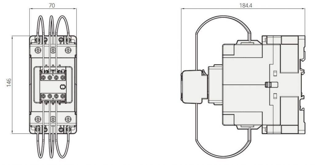 کنتاکتور خازنی 60کیلوواری برند HYUNDAI مدل HGC85C