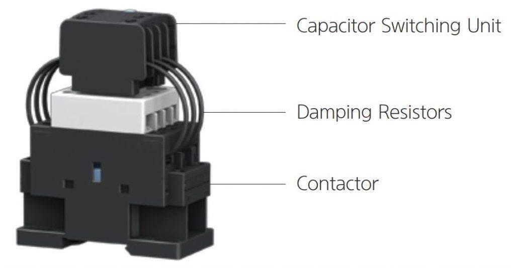 کنتاکتور خازنی 30 کیلوواری برند HYUNDAI مدل HGC40C