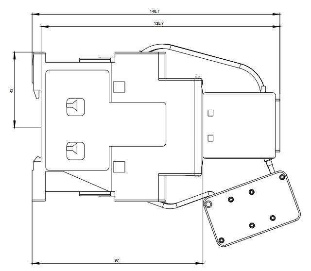 کنتاکتور خازنی 25 کیلوواری برند SIEMENS مدل 3RT2627-1AP05