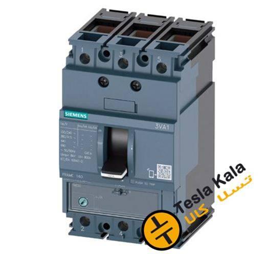کلید SIEMENS اتوماتیک 80 آمپر قابل تنظیم حرارتی-غیرقابل تنظیم مغناطیسی 3VA1180-3EE36-0AA0