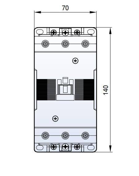 کنتاکتور خازنی 60کیلوواری برند LS مدل MC-85-AC50