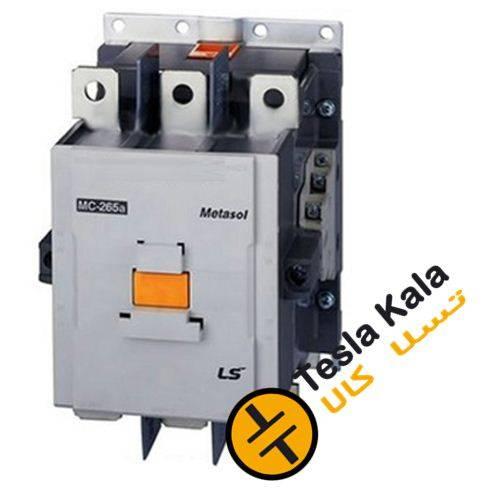 fff MC265 LS - کنتاکتور قدرت، 265 آمپر، 147 کیلووات، بوبین VDC/AC 240-100 ، برند LS مدل MC-265a