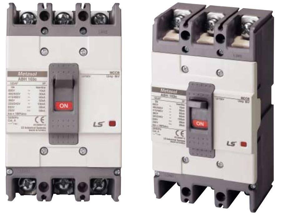 کلید اتوماتیک،کمپکت 60 آمپر،غیرقابل تنظیم حرارتی-مغناطیسی LS سری metasol