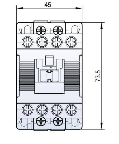 کنتاکتور خازنی 12.5 کیلوواری برند LS مدل MC-12-AC9