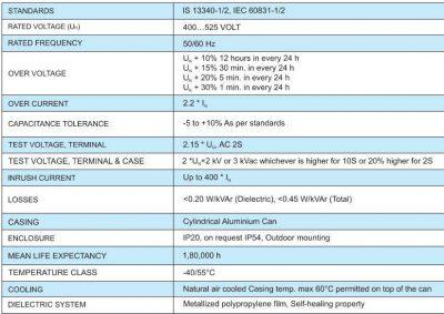 فنی خازنهای سیلندری شریم 400x283 - خازن 3فاز فشارضعیف سیلندری روغنی، پارس شریم ، 50 کیلووار در 440 ولت ( 40 در 400)