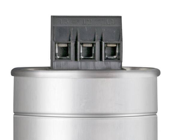 خازن 3فاز فشارضعیف سیلندری گازی، پارس شریم ، 2.5 کیلووار در 440 ولت