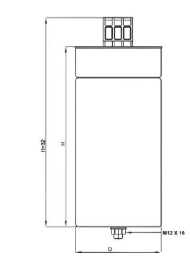 5 30 400 v diagram - خازن 3فاز فشارضعیف سیلندری خشک، پارس شریم ، 2.5 کیلووار در 440 ولت