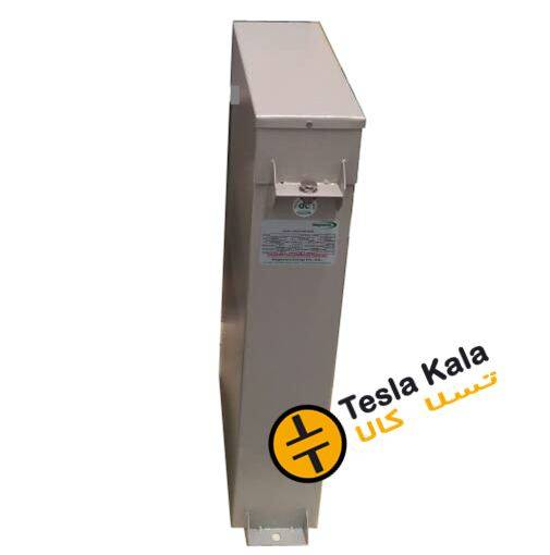 خازن 3فاز فشار ضعیف روغنی کتابی 50 کیلووار 440 ولت (40 در 400) پارس PARS.GH