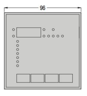 رگولاتور بانک خازنی، 5 پله لواتو ایتالیا LOVATO  مدل DCRK5