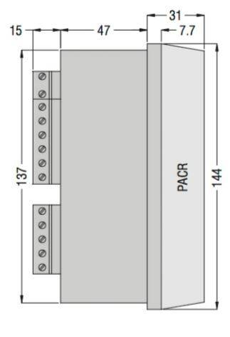DCRK812 7 - رگولاتور بانک خازنی، 12 پله لواتو ایتالیا LOVATO مدل DCRK12