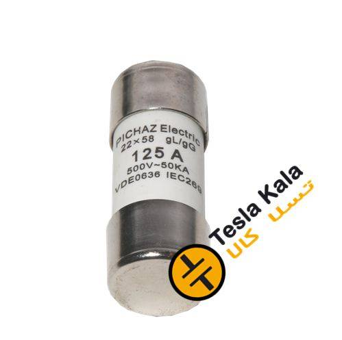 F FUSE CYLINDRICAL - فیوز سیلندری پیچاز الکتریک 51*14 ، 63 آمپر gG/gL