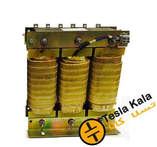 فیلتر هارمونیک خازنی 25 کیلووار( سیم پیچی آلومینیوم ) پارس  7/400/25