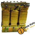 فیلتر هارمونیک خازنی 50 کیلووار( سیم پیچی آلومینیوم ) پارس 7/400/50