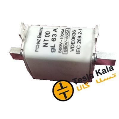 فیوز کاردی 125 آمپر پیچاز الکتریک NT00، gG/gL
