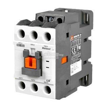 کنتاکتور قدرت، 32 آمپر، 15 کیلووات، بوبین VAC 110 ، برند LS مدل MC-32a