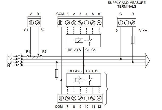 رگولاتور بانک خازنی سیرکوتور CIRCUTOR مدل COMPUTER MAX 04
