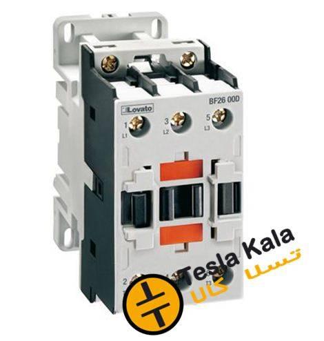 کنتاکتور قدرت، 32 آمپر، 15 کیلووات، بوبین 110VDC، برند لواتو ایتالیا LOVATO – BF3